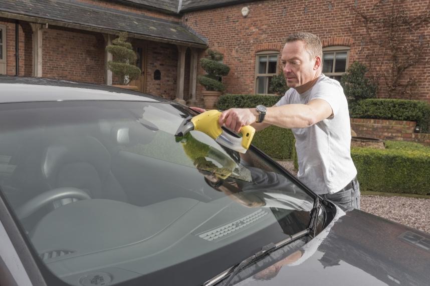 nettoyage pare prise voiture nettoyeur vitre vapeur