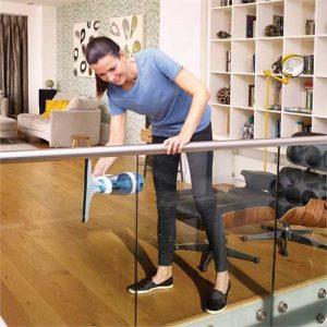 nettoyage vitre avec nettoyeur