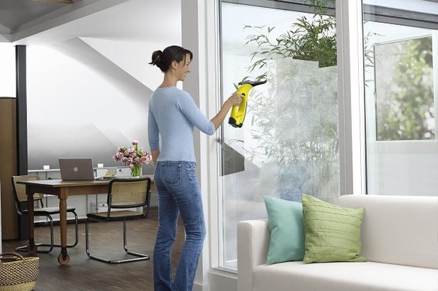 nettoyeur vitre vapeur