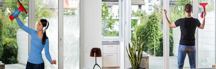 test nettoyeur de vitre vileda windomatic