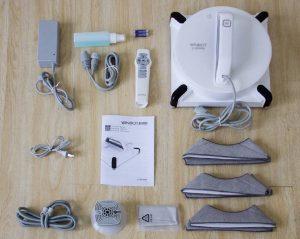 présentation Ecovacs winbot 950